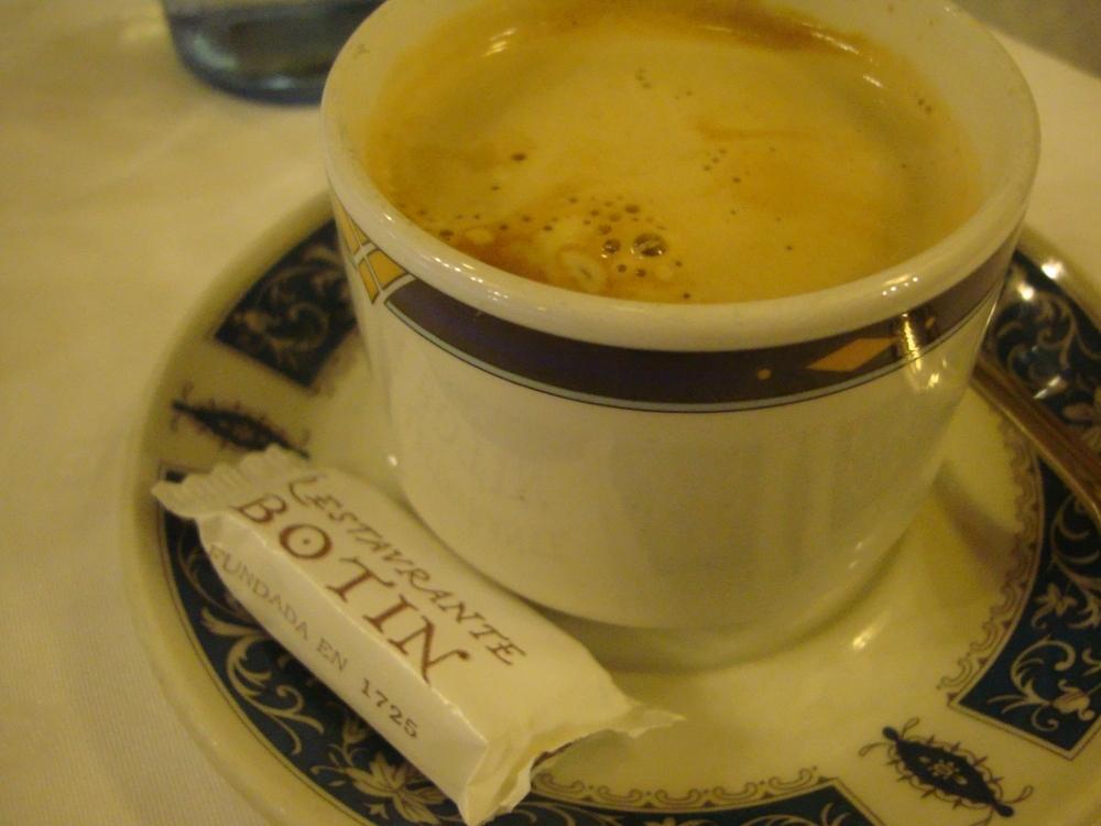 Botin, the oldest restaurant in the world...Madrid