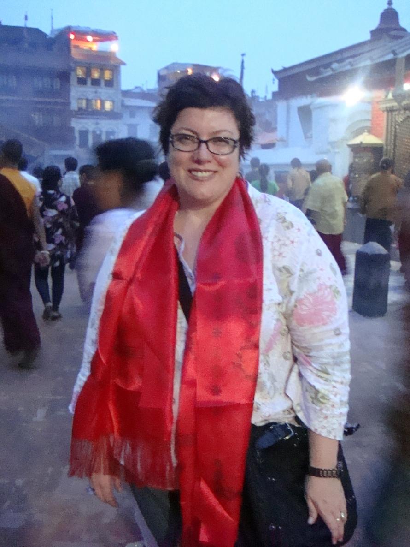 On the hippie trail in Kathmandu
