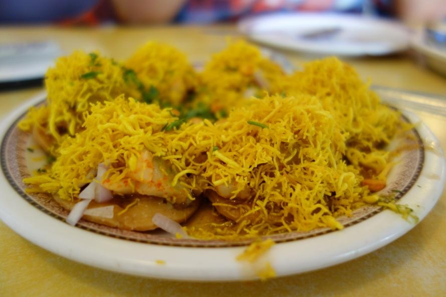 Street food style in Mumbai