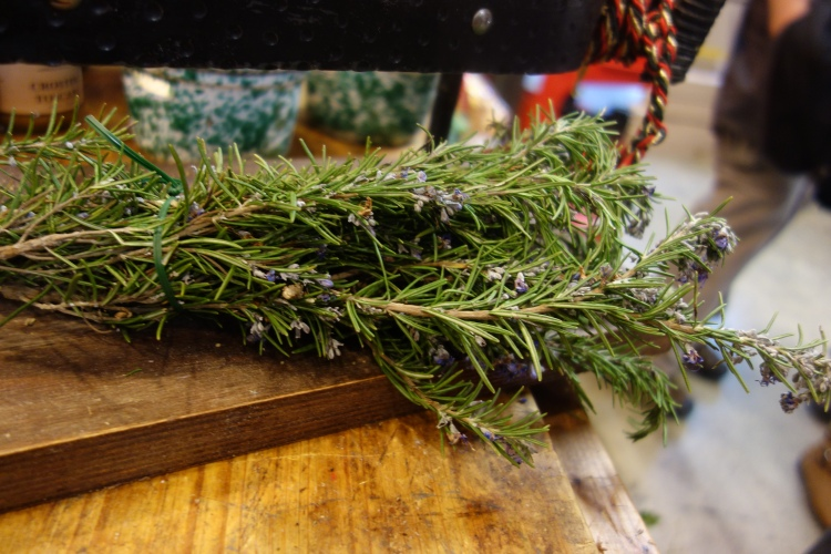 Lavender in the Central Market in Florence