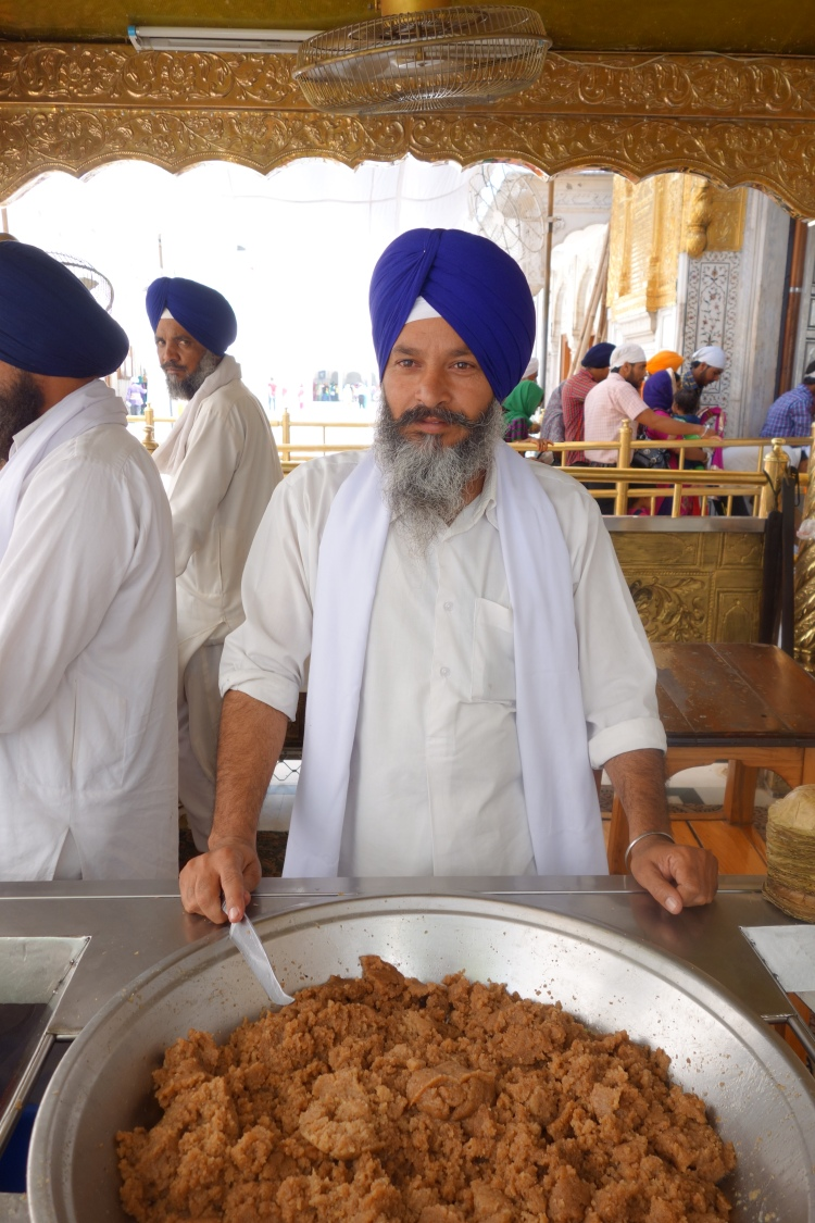 At the Golden Temple in Amritsar