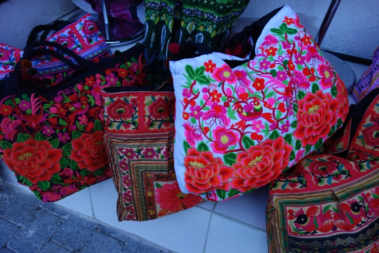 Selling their wares in Muscat, Oman