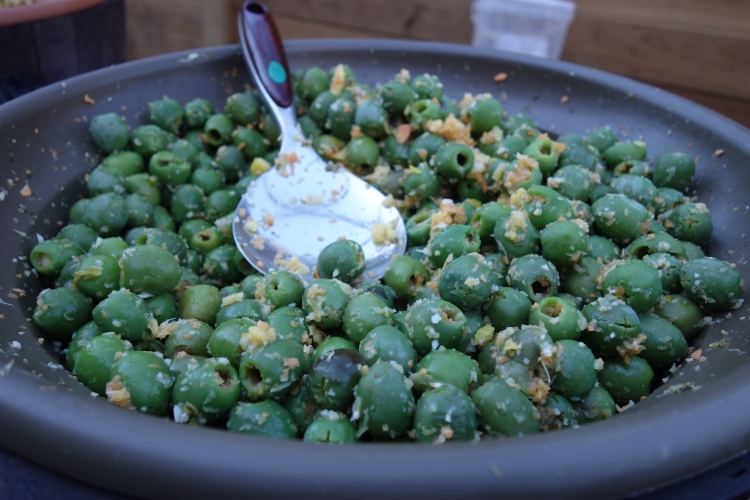 Olives at The Grounds of Alexandria in Sydney
