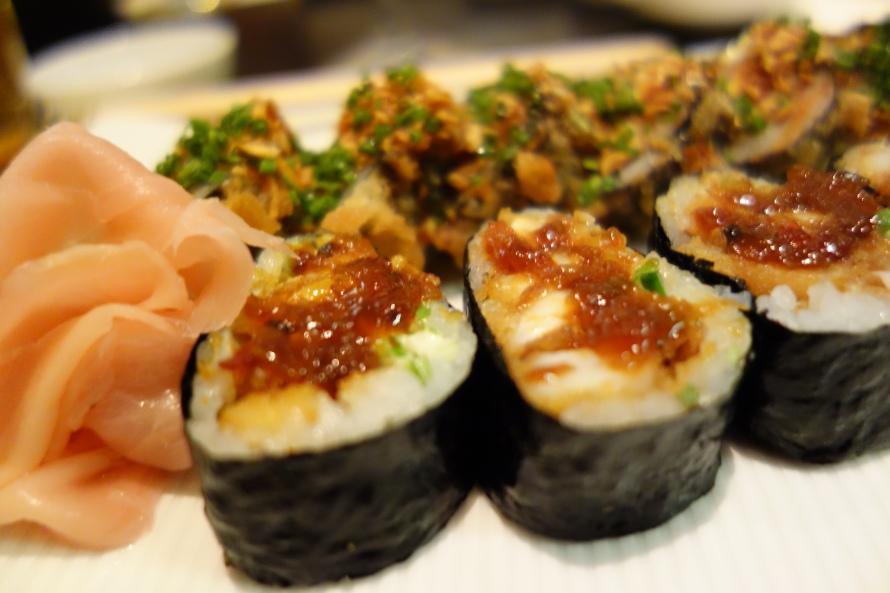 We all love sushi...W Doha again