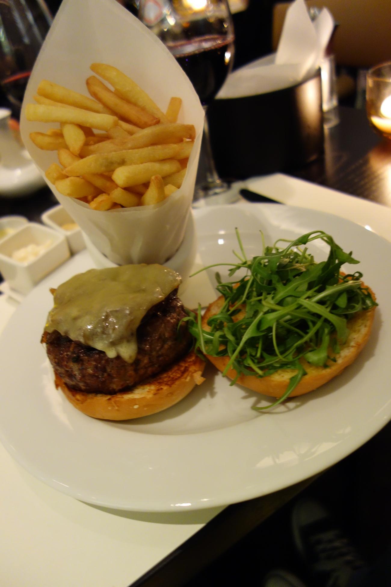 Everyone loves a burger - St Regis Doha