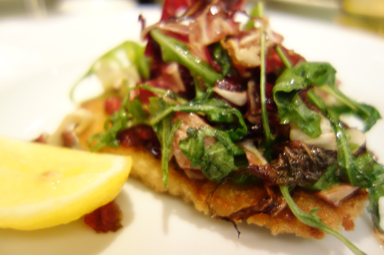 Veal Milanese - W Doha's Sommelier's Dinner in May with an Italian theme