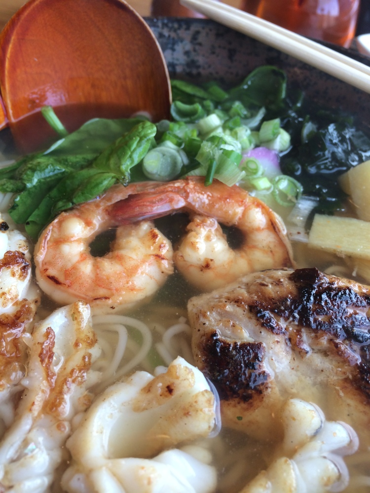 Noodle soup Doha Style