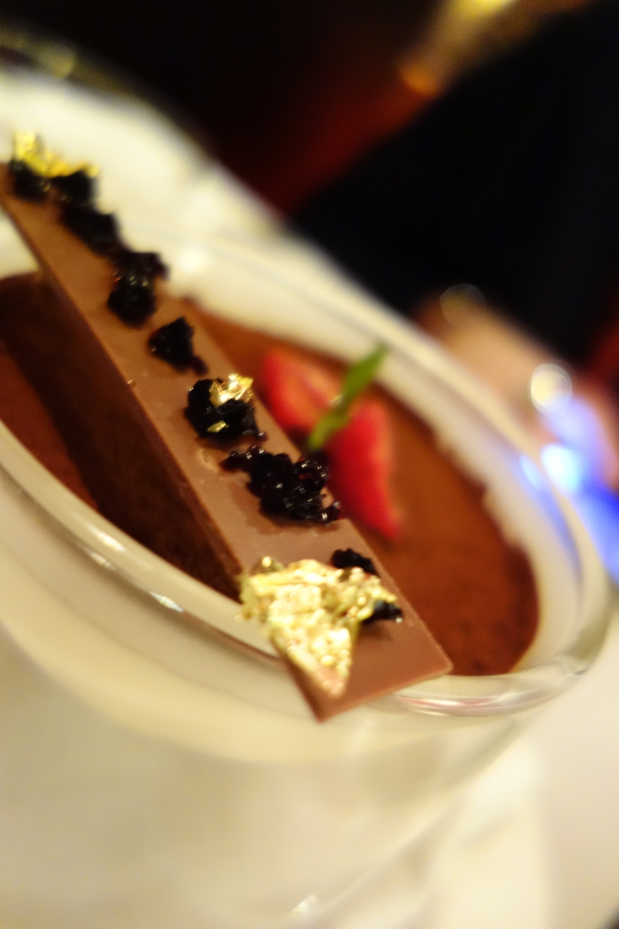 Dessert at The Anvil Rooms in Doha