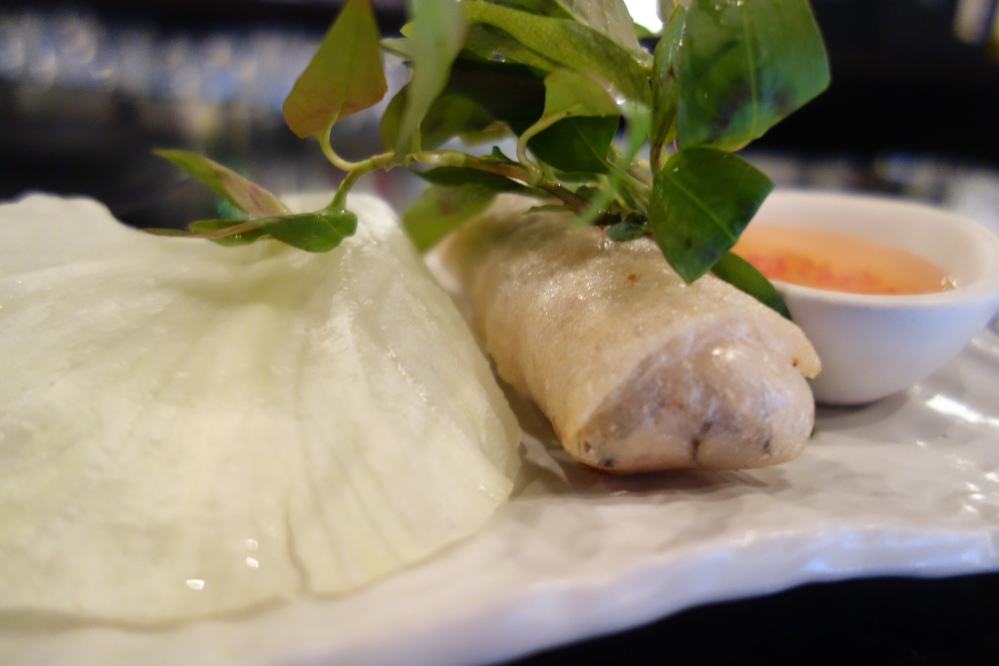 Vietnamese style spring rolls at CODA in Melbourne, one of my favorite restaurants in Australia