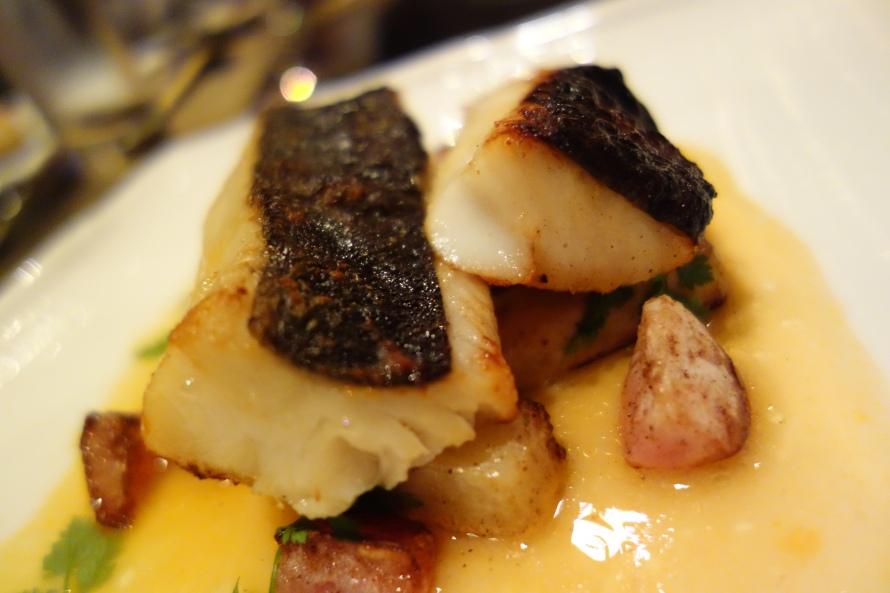 Miso glazed cod at Spice Market W Doha.
