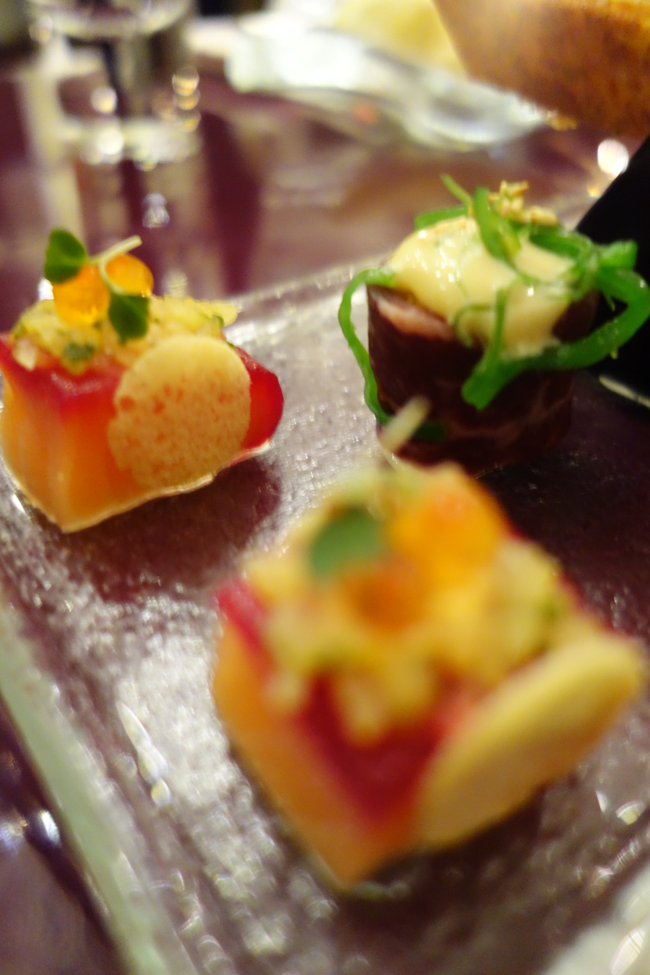 The art of the canape at St Regis Doha