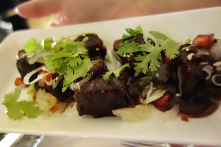 Braised short ribs at Opal by Gordon Ramsay