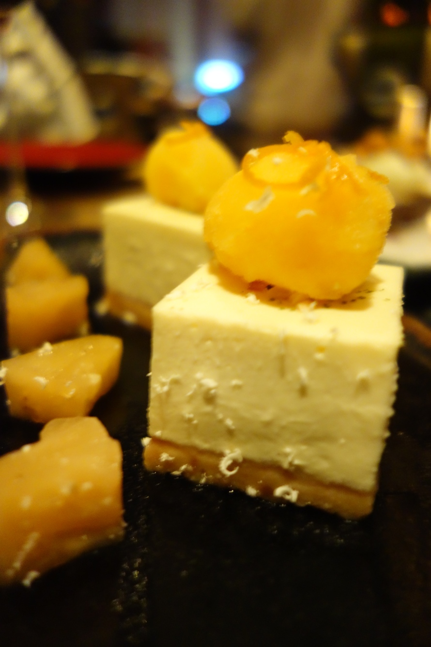Cheesecake with an Asian twist