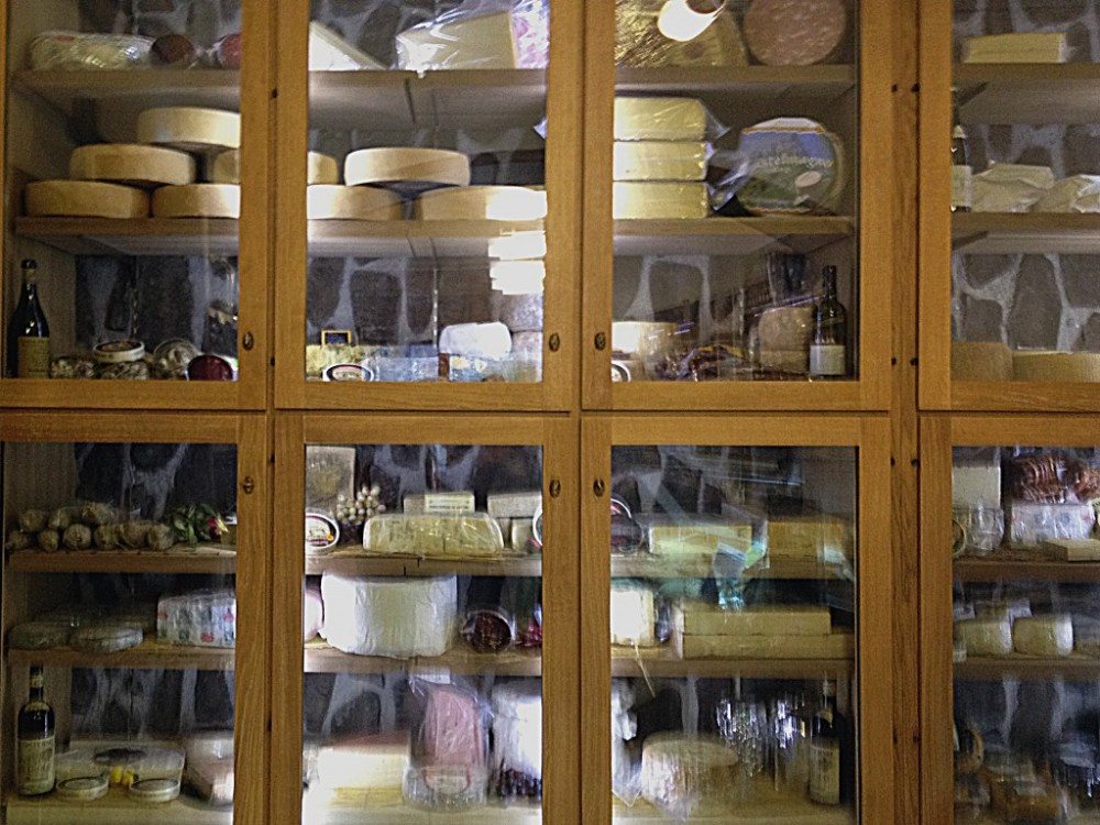 How I want my cheese fridge to look...