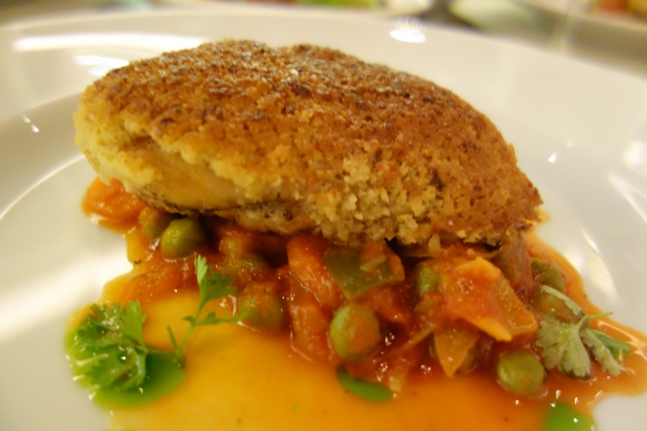 Chicken with Peas - A Chilean Staple