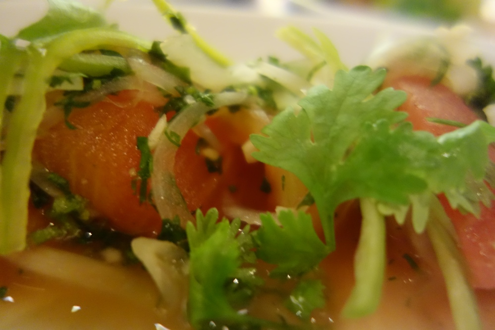 Tomato salad - sometimes the simple things are the tastiest