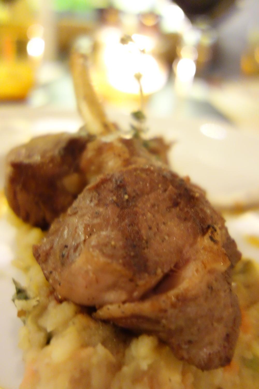The crescendo - lamb chops