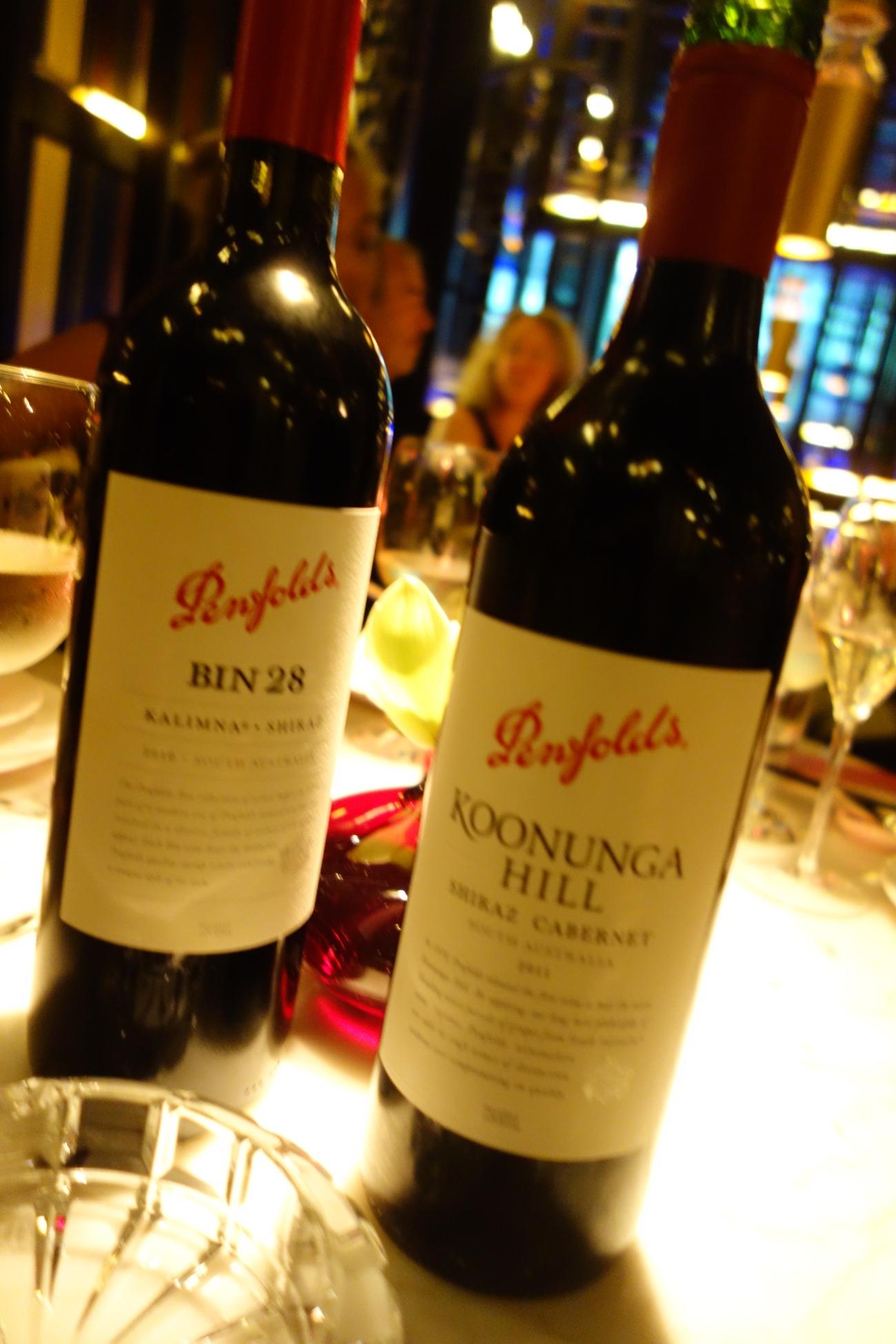 Penfolds wine