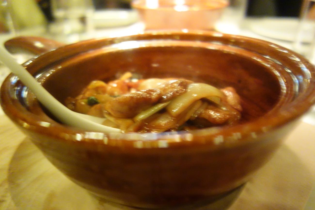 Sanpei chicken hotpot