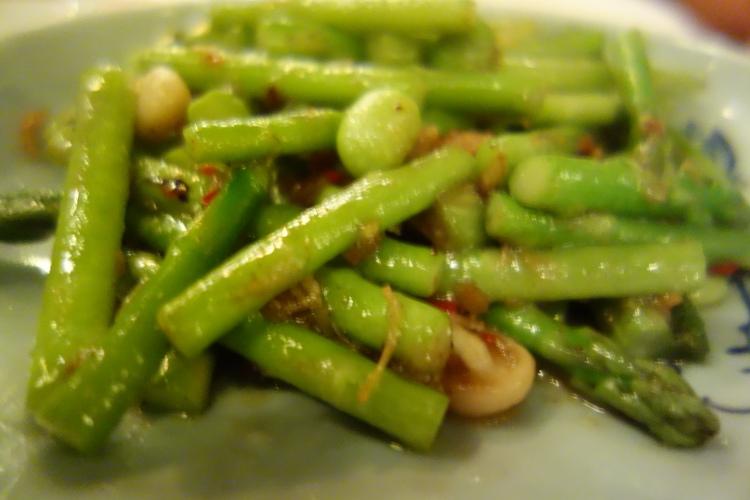 Asparagus in XO sauce