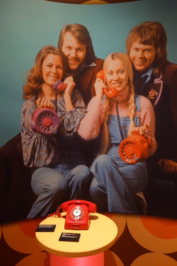 ABBA calling...ABBA Museum Stockholm