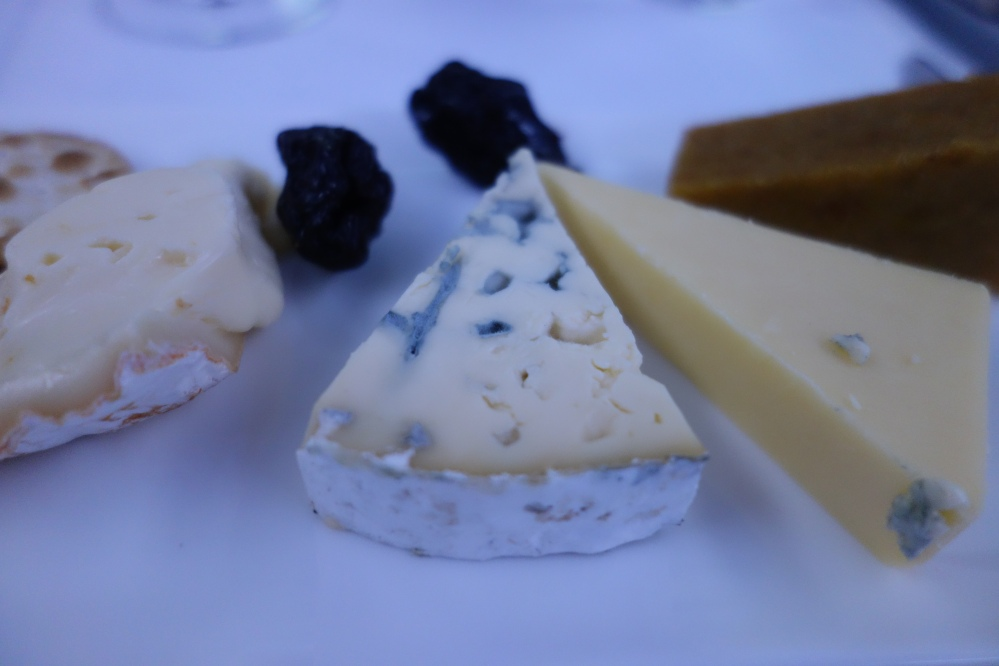 Qatar Airways Cheese Plate