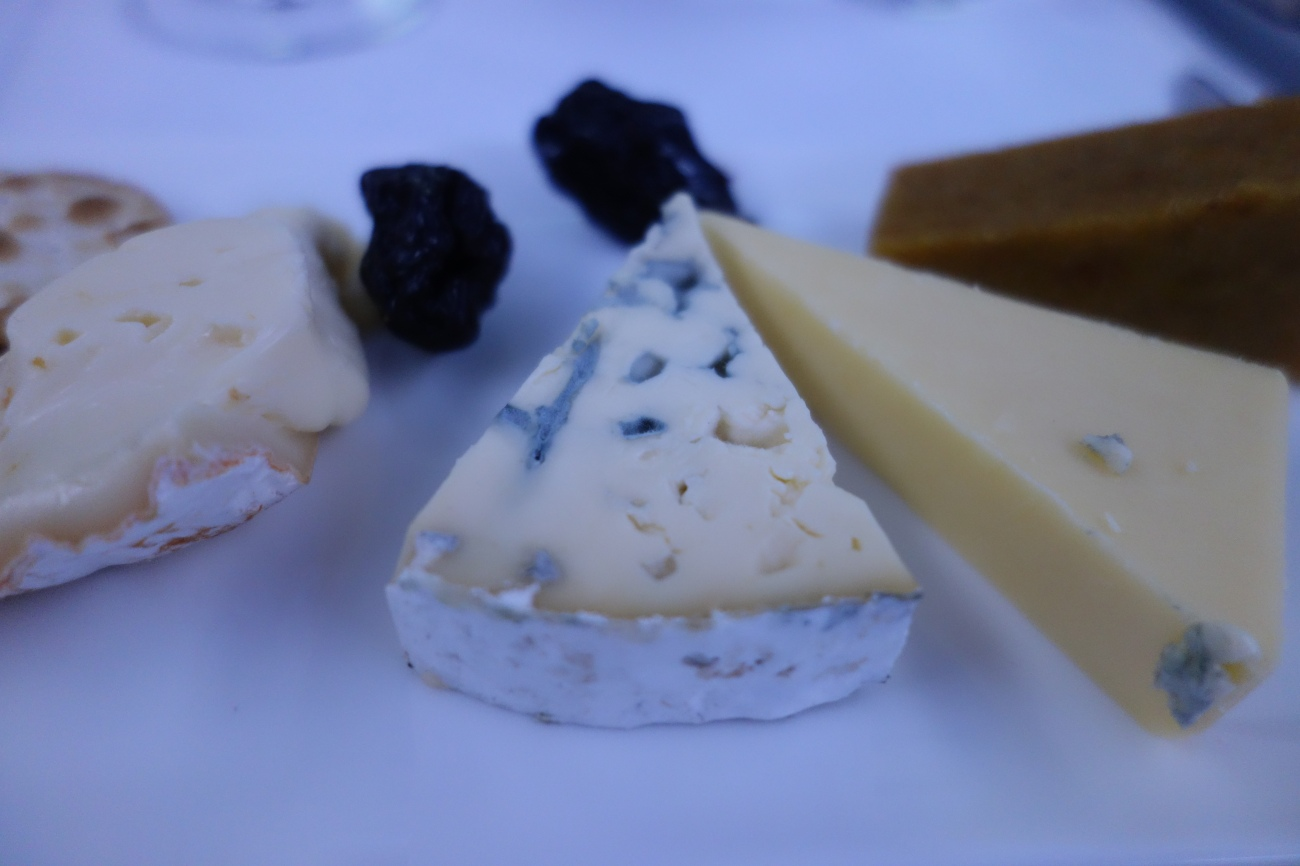 Qatar Airways Cheese Plate