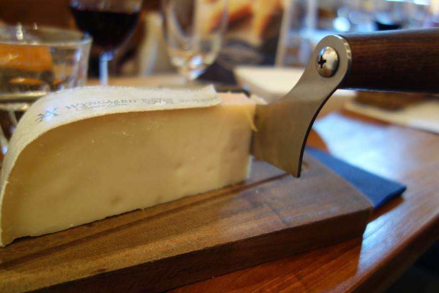 Cheese and sharp implements - heaven much?