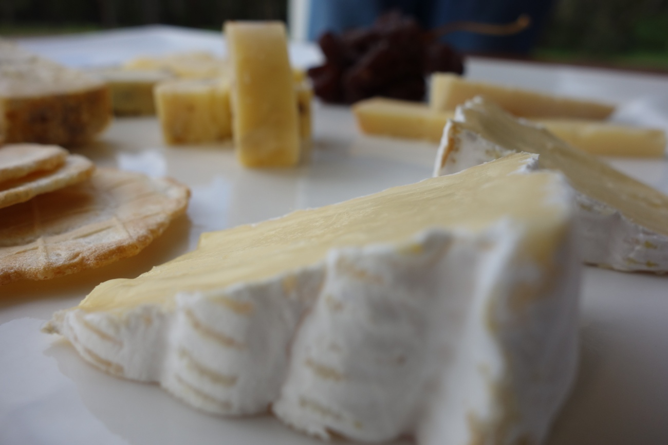 Brie style cheese at Windows