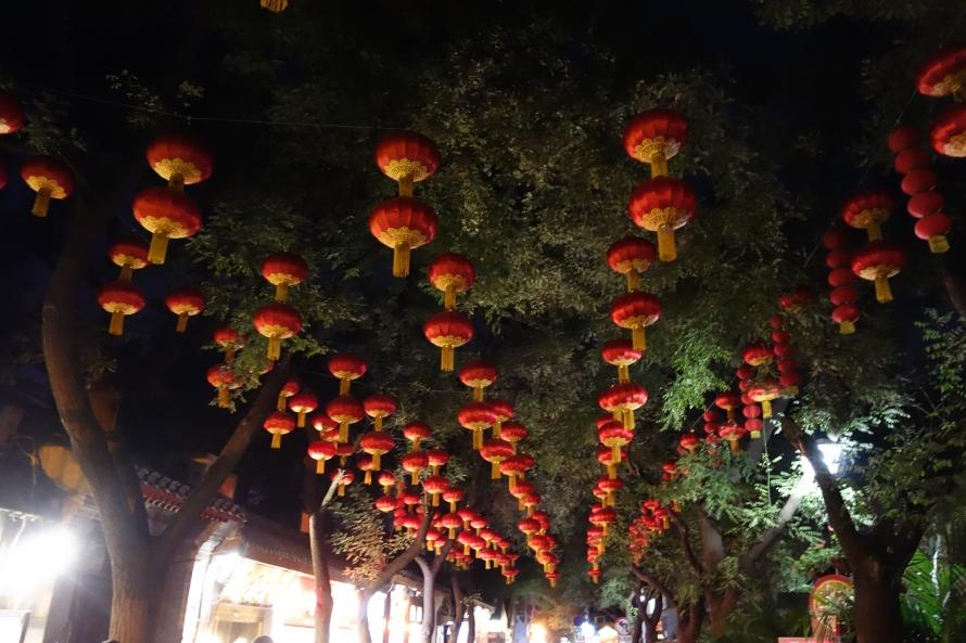 Lanterns Light Up