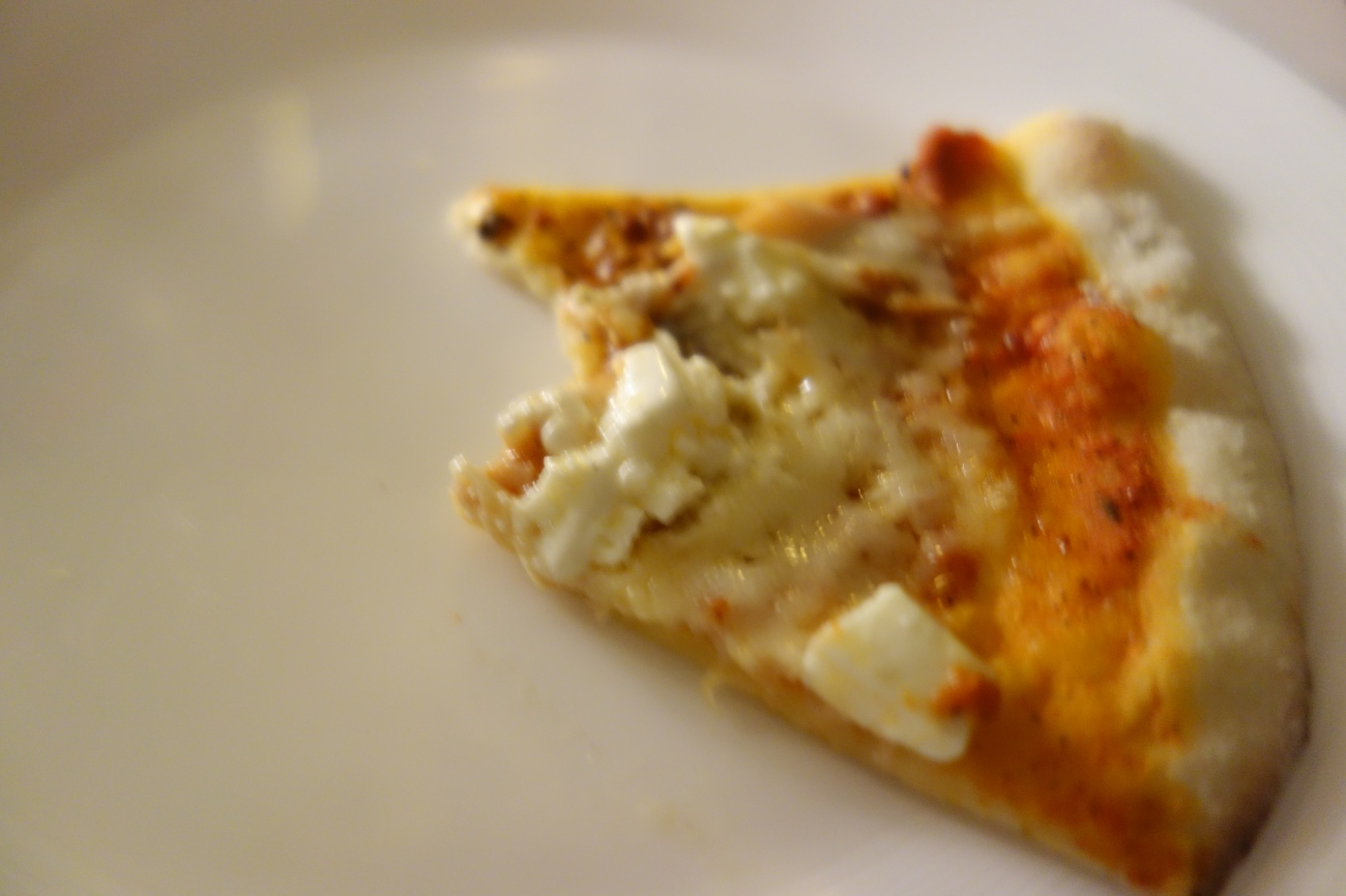Pizza in progress