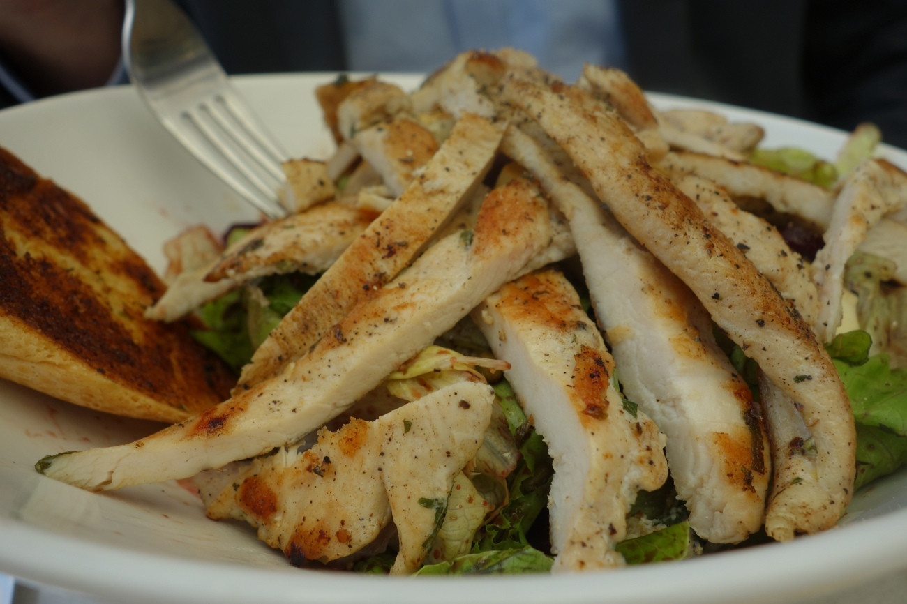 Chicken and beat salad