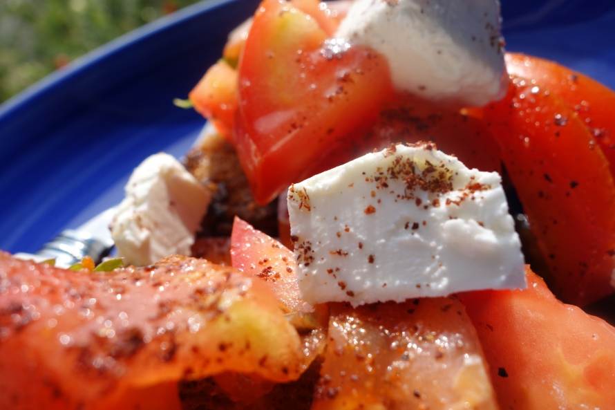 Tomatoes and cheese, perfect combination