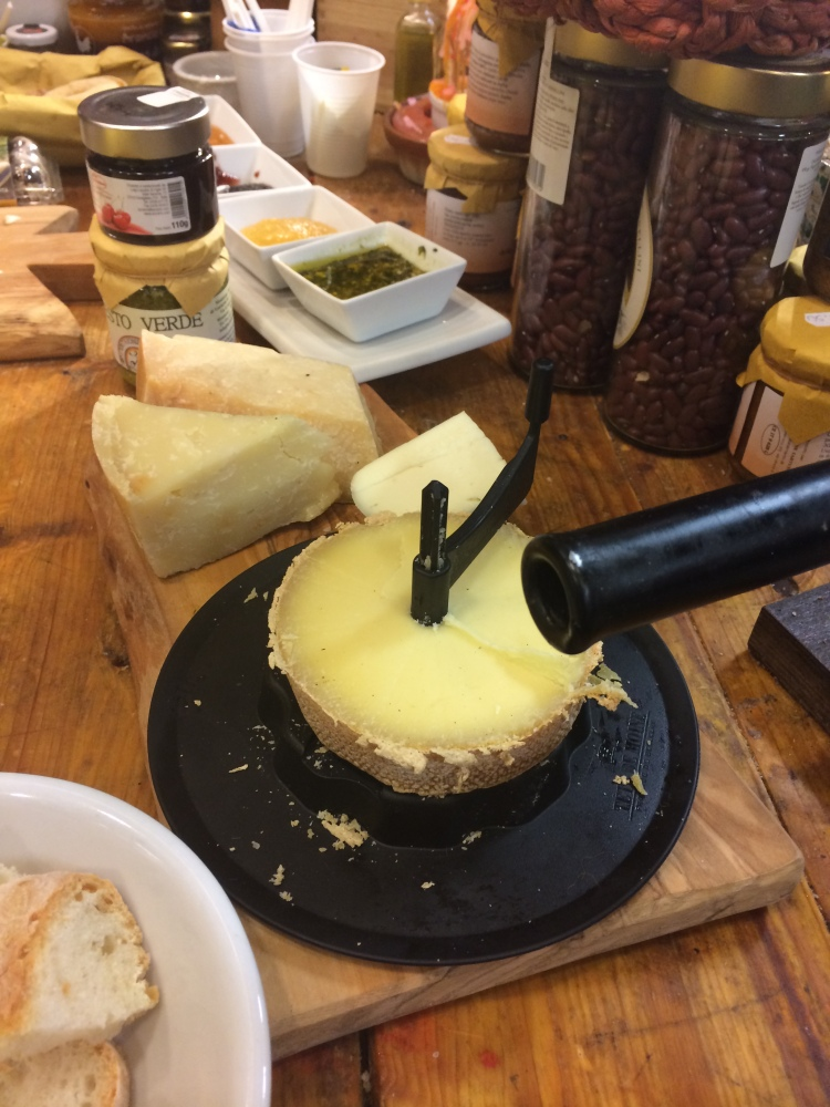 Pecorino as it should be eaten