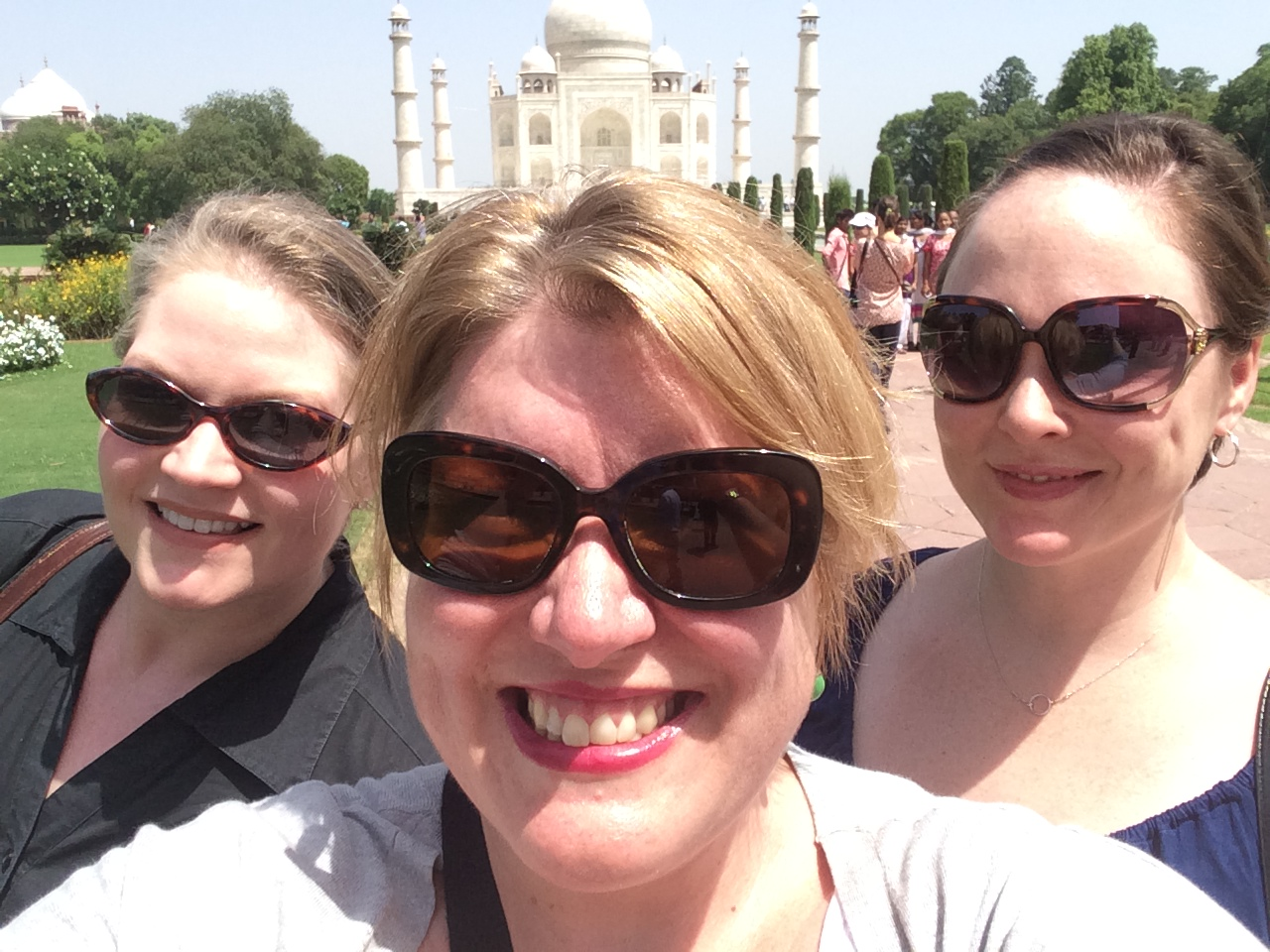 Taj Mahal with 7 million of our closest friends