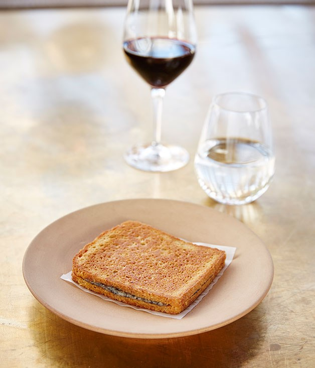 The sandwich (image from Gourmet Traveler Australia)