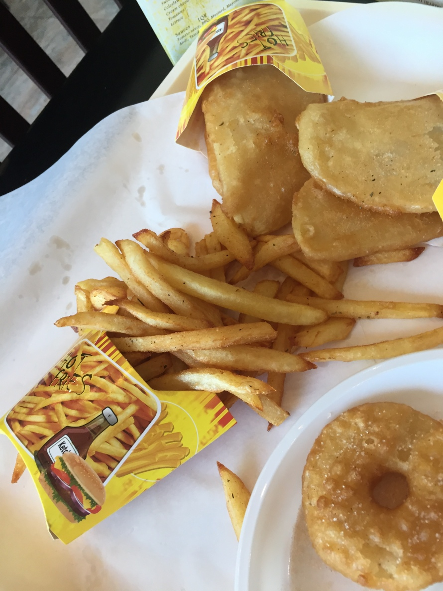 Fries with a side of crack