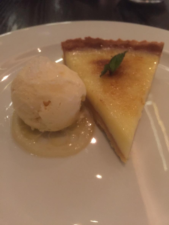 tart, icecream, food blog, doha, life on the wedge