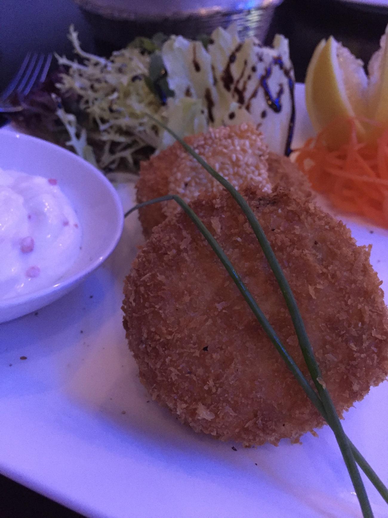 crab cakes food blogger Qatar