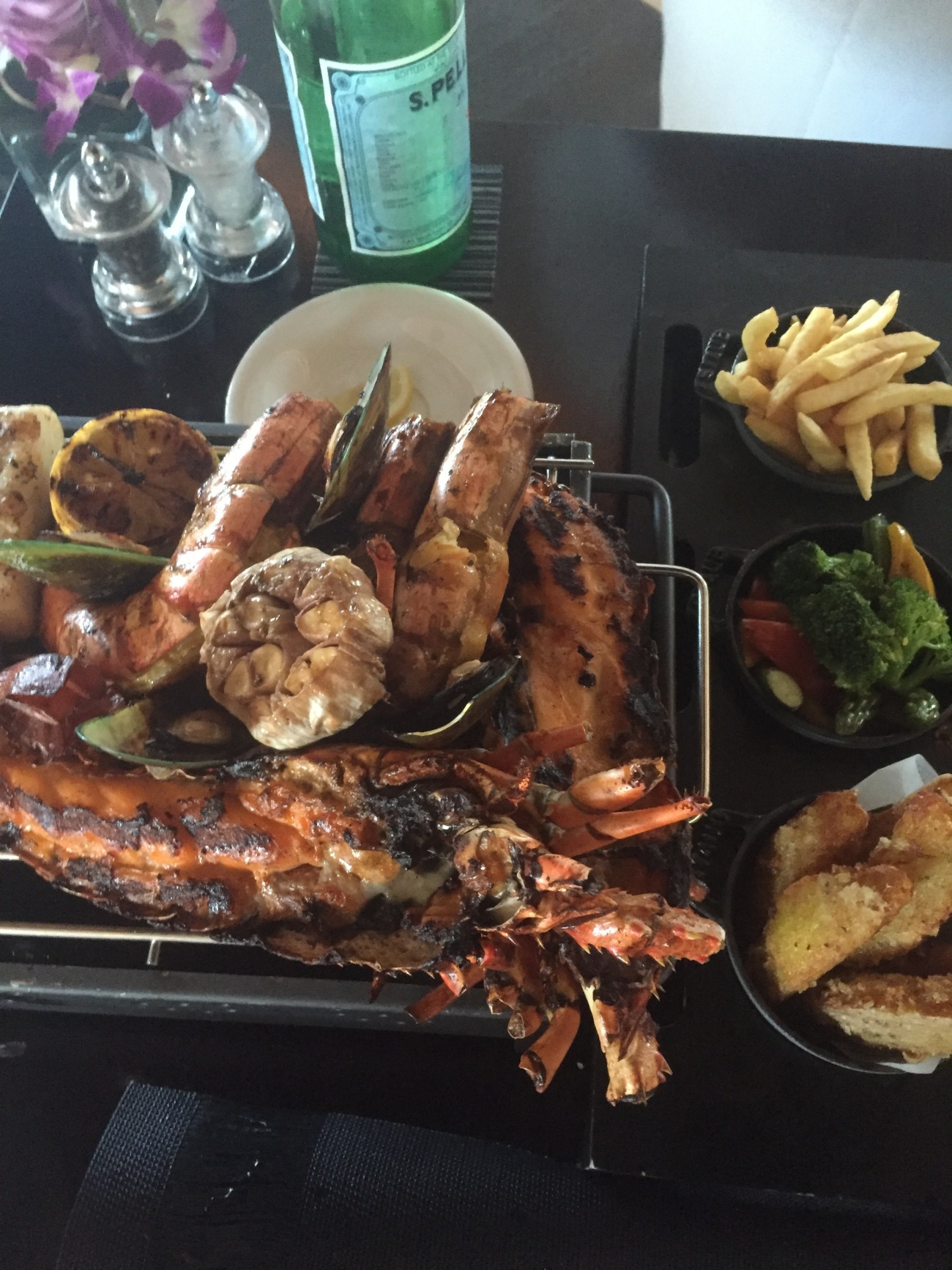 seafood food blogger qatar