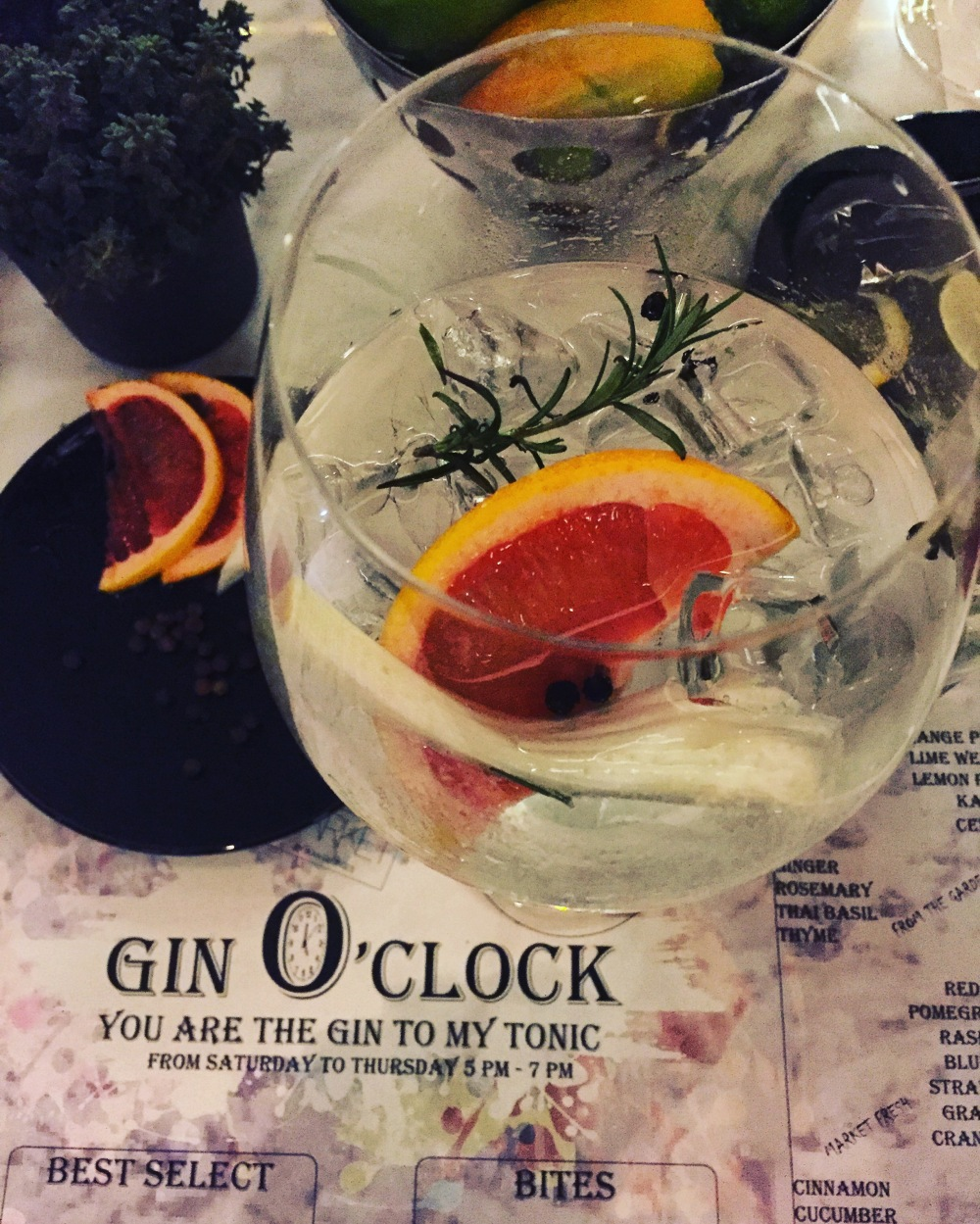 gin happy hour doha food blogger