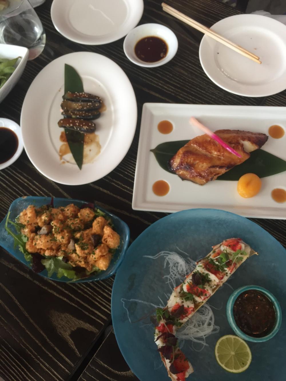 Nobu seafood food blog Doha