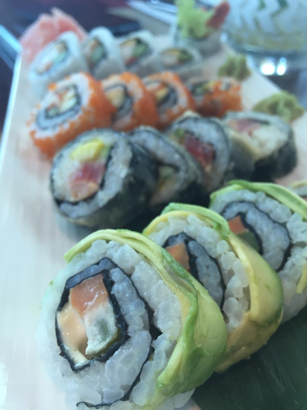 sushi food blog Doha