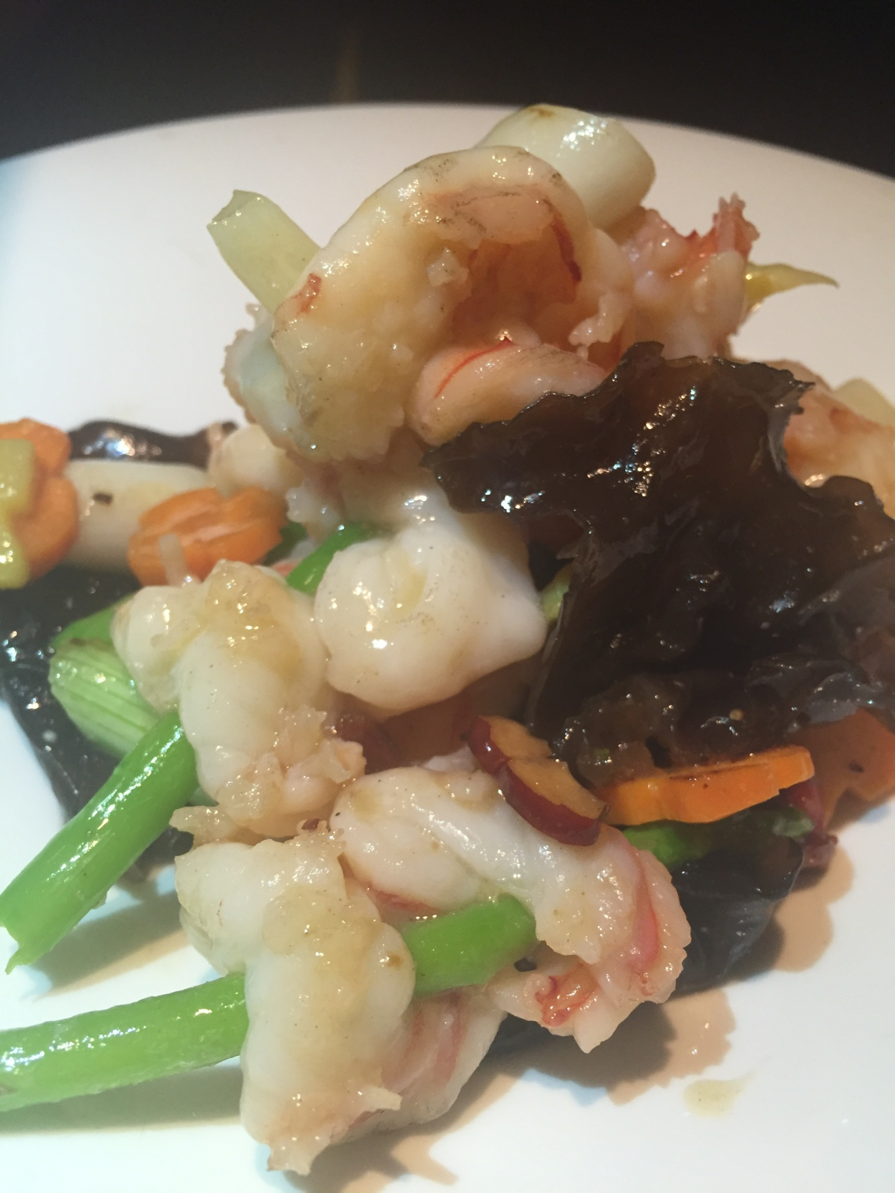 prawns hakkasan chinese food doha