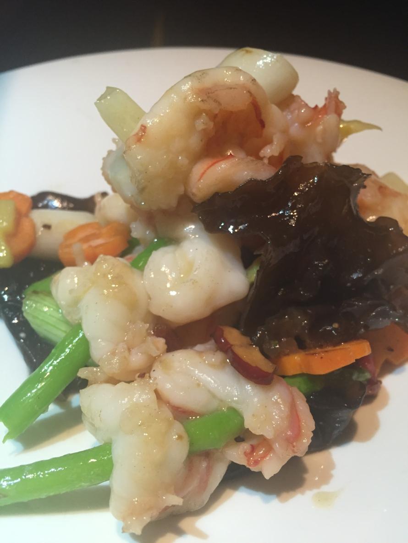 prawns hakkasan chinese food doha