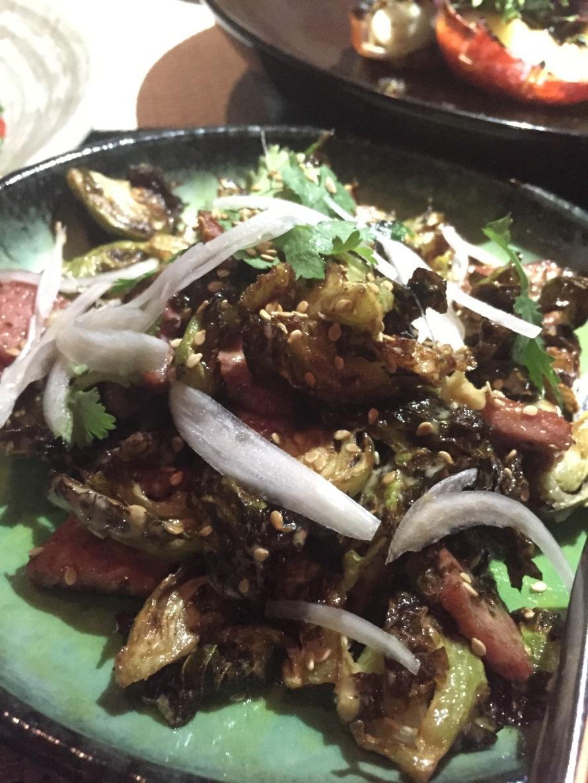 salad asian food life on the wedge