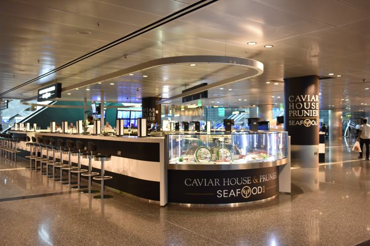 caviar life on the wedge champagne blog doha