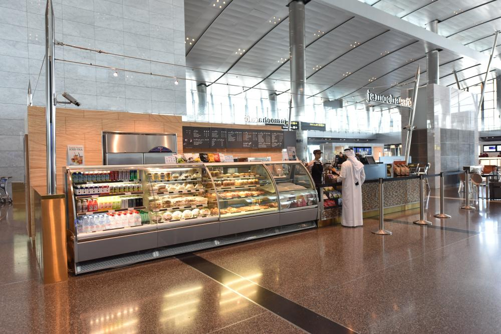 cafe doha airport food blog