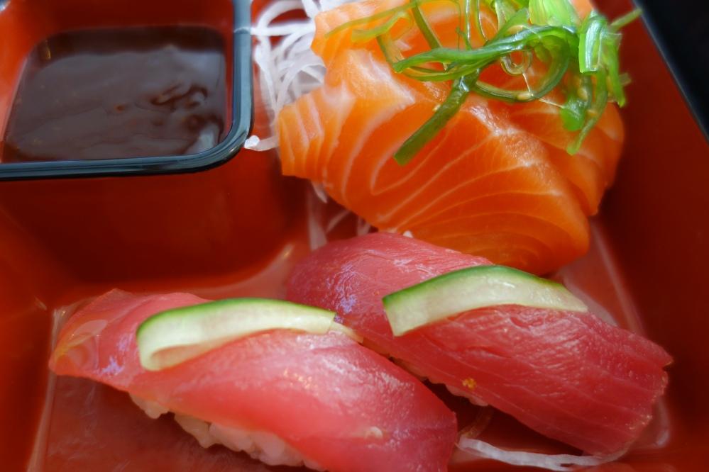sashimi and blog