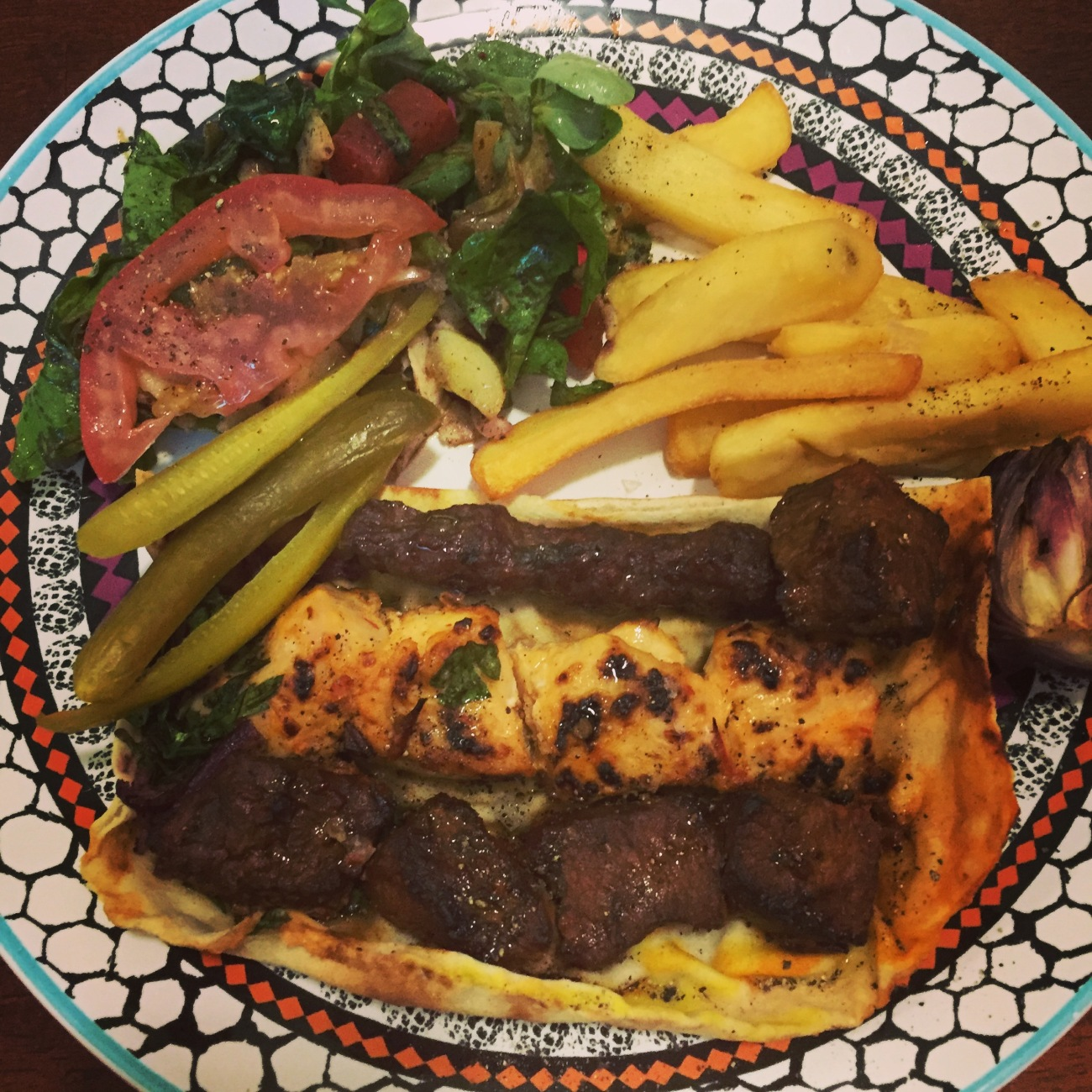 mixed grill life on the wedge food blog doha
